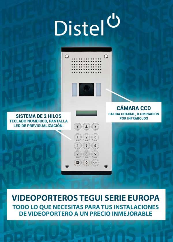 Videporteros tegui serie europa distel - Precio de videoporteros ...